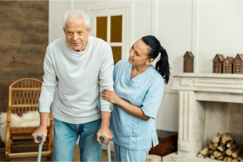 When Seniors Re-Learn To Walk 5 Quick Guidelines for Family Caregivers